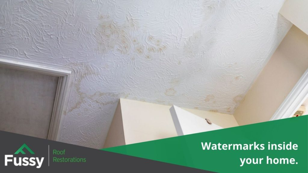 Watermarks inside your home