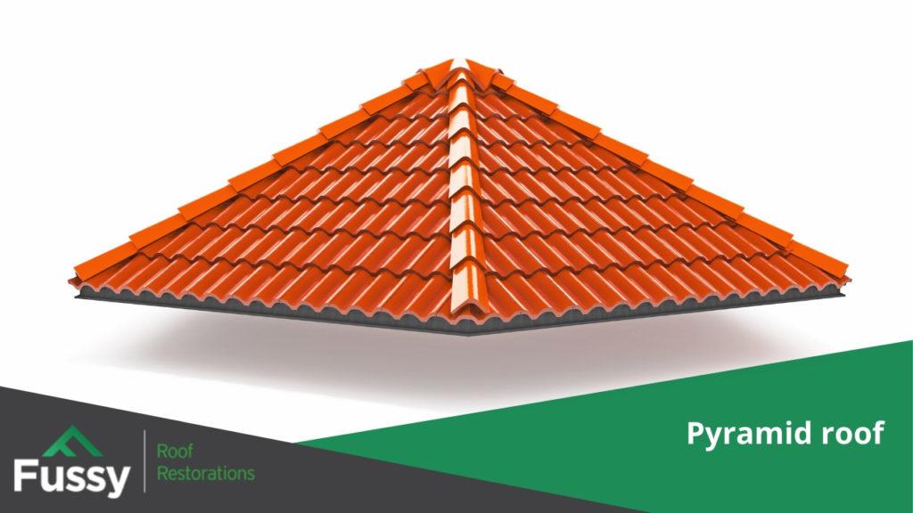 Pyramid roof