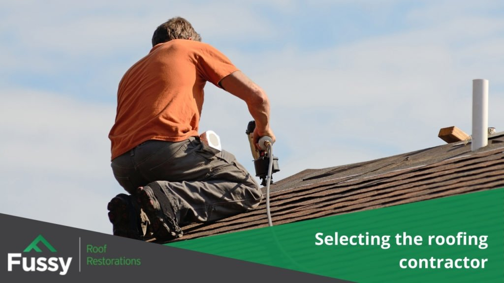 Selecting the roofing contractor