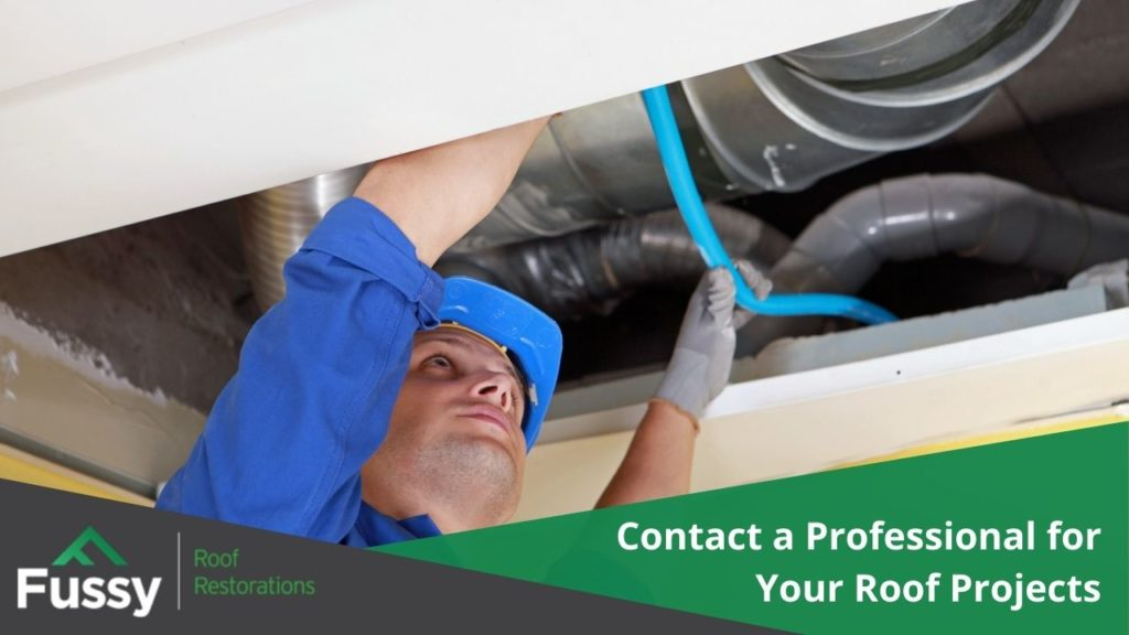 Contact a Professional for Your Roof Projects